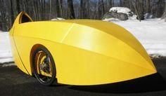Coroplast velomobile