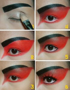 CandyLoveArt: My Angry Bird Makeup Tutorial