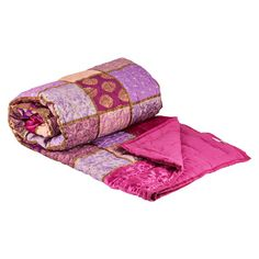 Like a luxurious patchwork. And a matching cushion is available too.