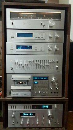 Pioneer vintage hifi set up