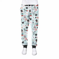 41.99$  Watch here - http://vicnd.justgood.pw/vig/item.php?t=stj29w146282 - Alice In Wonderland Friends Womens Jogging Pants 41.99$