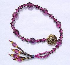 Spirals Anklet Or Bracelet   Link To Pattern Instructions. Beaded Bracelet  PatternsMacrame ...