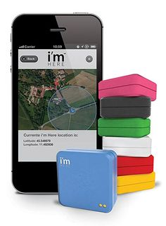 i'm Here GPS Tracker links to your phone by an always-ready app and allows you to track family members, vehicles, etc.