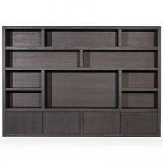 Shelving Design, Tv Wall Design, Chill Room, Living Room Cabinets, Lounge Design, Wall Paint Colors, Black Cabinets, Wall Storage, Tv Unit
