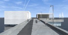 Landmark for the Faliron Pier  Location: Faliro, Athens 2012  Project team: OFFICE 25 ARCHITECTS Participation in the National Architectural Competition 'New Landmark for the Faliron Pier Competition'