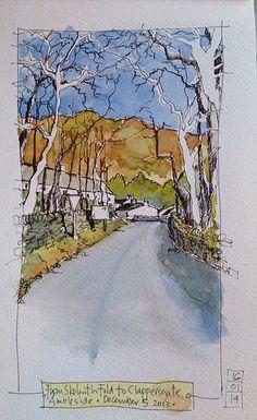 Clappersgate, near Ambleside by John Harrison, artist, via Flickr