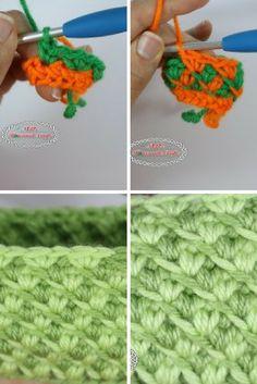 Learn A New Crochet Stitch: Turkish Star Stitch