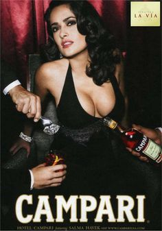 Salma Hayek for Campari Selma Hayek, Salma Hayek Photos, Pub Vintage, Actrices Sexy, Actrices Hollywood, Celebs, Celebrities, Belle Photo, Vintage Advertisements