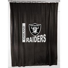Oakland Raiders Shower Curtain