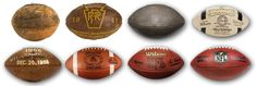 The evolution of the football's shape