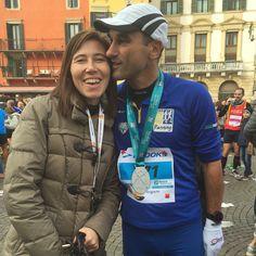 Finita! Bravissimo! #verona #marathon #running #love #like #soulmate #running