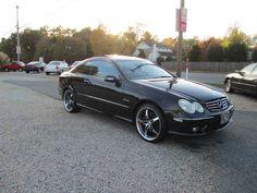 Mercedes-Benz CLK500.