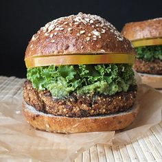 Satisfy that burger craving with an eggplant burger.   10 Swaps To Make Your Favorite Foods More Wholesome
