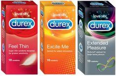 Durex Love Sex | Honeymoon Tri-Combo Pleasure | Discreet Gift-wrapped (Set of 3) #Durex