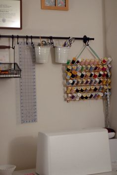 how to organize sewing