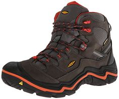 912edb9ed7 KEEN Mens Durand Mid WP Hiking BootMagnetRed Clay95 M US   Click image to  review more