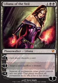 Magic the Gathering : Lilliana of the Veil