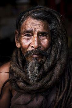 Baba Ji; Kathmandu, Nepal (Photo by Laurent Auxietre)