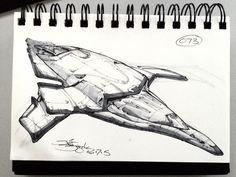SpaceshipADay 073, Jeff Zugale on ArtStation at https://www.artstation.com/artwork/spaceshipaday-073
