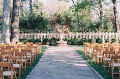 Belle Meade Plantation, Nashville, Tennessee. Protected by a white picket fence and a throng of lush trees, this 19th Century plantation is total rustic luxury. Its 30 acres include indoor barn space, a cocktail lawn game area, and an outdoor garden. You'll have everything you need for your big day. Photo Credit: Cassidy Carson Photography