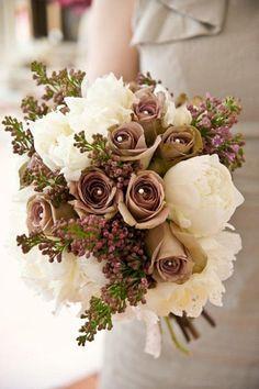bouquet wedding flowers brown - Поиск в Google