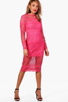 17d0287ed2 Boutique Lace Midi Dress  ad Lace Midi Dress