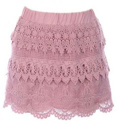 #kely Clothing            #Skirt                    #Lace #Mini #Skirt #Kely #Clothing                  Lace Mini Skirt - Kely Clothing                                               http://www.seapai.com/product.aspx?PID=1651602