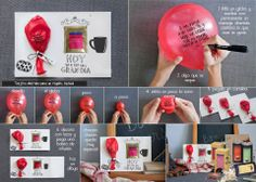 Nunca habíais visto una tarjeta tan original, tan dulce y tan personal. Y además muy fácil de hacer! Ideas Pharmadus