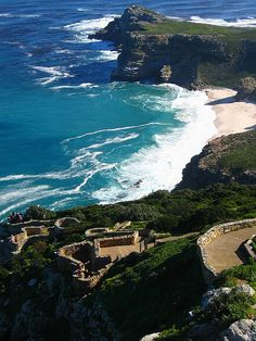 Cape Point, Republic of South Africa these waves are asking to be surfed! Oh The Places You'll Go, Places To Travel, Places To Visit, Travel Around The World, Places Around The World, South Afrika, Cape Town South Africa, Out Of Africa, Exotic Places