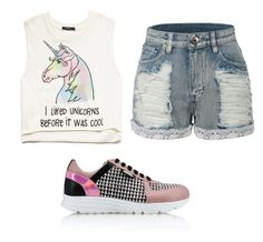 """Untitled #867"" by youareswag ❤ liked on Polyvore featuring Forever 21, Karl Lagerfeld and LE3NO"
