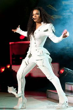 Janet Jackson - with Mike - I was looking for forward to this show but it was probably the worst concert ever. Don't think she was really singing   Omaha