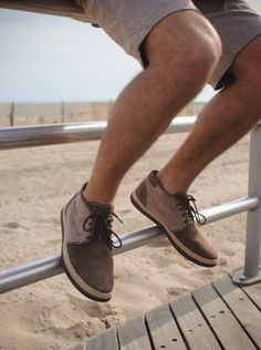 UGG® Australia's leather chukka boat shoes for men - the #Cantrell - #UGG4Men #Spring