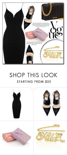 """H.H. 6"" by fashion-pol ❤ liked on Polyvore featuring Topshop and Miu Miu"