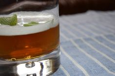 The Southern German: 2 oz Rye, 1 tsp pure maple syrup, 1/2 bottle Underberg Bitters, 1 1/2 oz apple cider.