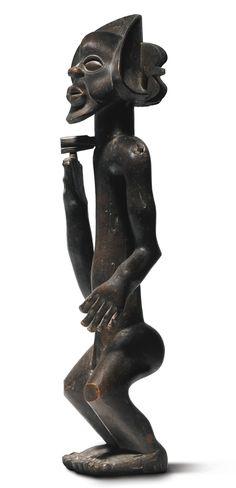 Chokwe Male Figure of Chibinda Ilunga, Democratic Republic of the Congo | Lot | Sotheby's