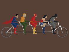 Tandem Heroes by Meghan Spurlock
