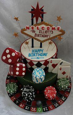 Las Vagas birthday cake!! :-)