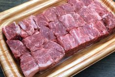 Our Hokkaido Wagyu shank is a well muscled cut of beef and consists mainly of lean meat. With its high content of sinew and gelatin, this cut is flavourful and rich in taste, making it the perfect cut for braising, stewing dishes and for making soup stock. It is also suitable for making low fat ground beef.