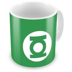 Caneca Personalizada DC Comics Lanterna Verde Logo