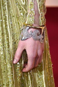 8505cc65b6c Emma Stone s Tiffany Blue Book diamond cuff