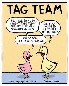 fowl language comics — If it's not one kid… Bonus Panel Instagram