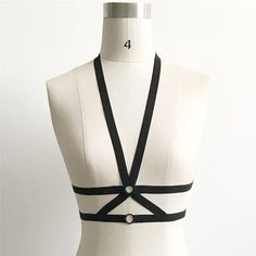 1pc New Design Sexy Black Velvet Choker Necklace Women Body Harness Chains Necklace Bralette Top Bra bandage Jewelry. Yesterday's price: US $3.65 (2.99 EUR). Today's price: US $2.74 (2.24 EUR). Discount: 25%.