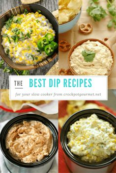 Oh boy I can't tell you how excited I am to do this post!  Aside from meatballs, dips are one of my very favorite things to make in the slow cooker.  Well,