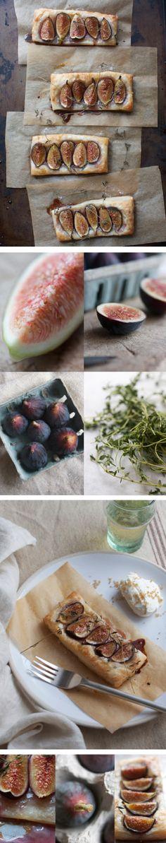 fig tarts with brown sugar mascarpone