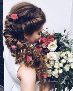 Wedding Updo Hairstyles for Long Hair from Ulyana Aster_27