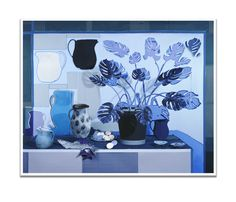 Blue Rooms, Still Life, Studio, Photo Ideas, Projects, Collage, Photography, Painting, Art