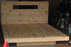 11 DIY Pallet Bed Design - Welcome my homepage Floating Bed Frame, Floating Platform Bed, Diy Bed Frame, Bed Frames, Build Bed Frame, Diy Queen Bed Frame, Diy Bett, Built In Bed, Pallet Beds