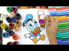 1 Disney Baby Donald Duck Ice Cream Coloring Pages