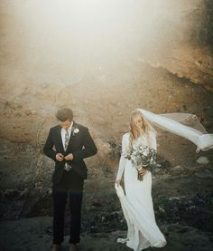 modest wedding dress with long sleeves from alta moda. --- (modest bridal gown) --