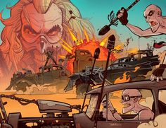 Mad Max - Fury Road Inspired Artists Deluxe Edition (2015) 033